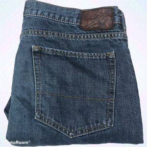 Dockers Straight Fit Blue Jeans Denim 34x34 Cotton